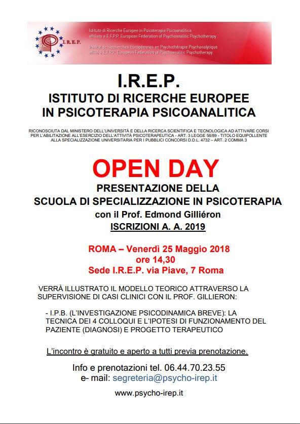 Scuola di Specializzazione IREP